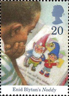 Birth Centenary of Enid Blyton 20p UK postage Stamp (1997) Noddy