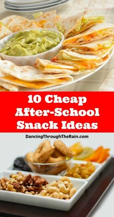 Feeding the kids after school can really add up, but these cheap after school snack ideas will help you feed your children on a budget!
