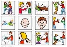 Set piktogramů - nežádoucí chování –  (Mujblog.info v3.1)