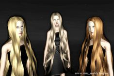 Emma's Simposium: Free Hair Pack #120 By BlueTabby - Donated/Gifted!...