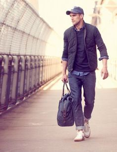 winter & vintage  //Men's fashion  with colors and style| Man fashion