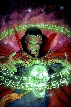 Doctor Strange and Fairy Girl re-imprison Dormammu in the Dark Dimension