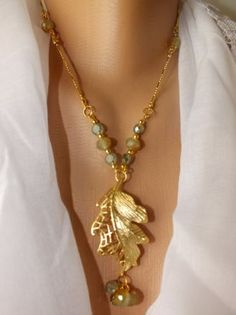 australia stylish necklace with crystals   custom design