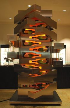 Veuve-Clicquot & Porsche tower, a piece we dream of owning!