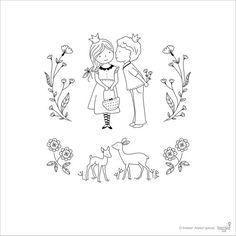 Claro Set sello tarjeta que hacen el amor por TamarNahirYanai