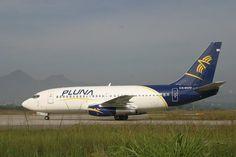 PLUNA, Boeing 737-2A3, CX-BOO no Galeao (GIG) Rio de Janeiro by Vito Cedrini