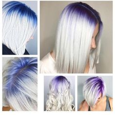(Clockwise) @kristi_mac_of_hair; @samihairmagic; @stephygnarstagram; @bleachedandblown; @stephygnarstagram; and @jenhagyhair