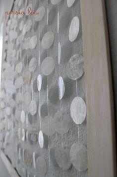 Beach Wall Art, Diy Wall Art, Diy Wall Decor, Diy Home Decor, Decor Crafts, Diy Art, Beach Crafts, Home Crafts, Mobiles