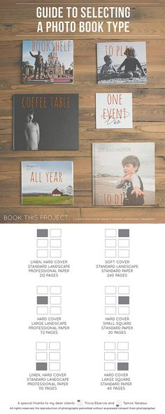 Q&A: How to Select a Photo Book? - BOOK THIS PROJECT.