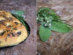 Oliven-Kräuter-Focaccia
