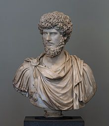 Lucius Verus, Roman emperor from 161 to 169 AD (of course statues never have frizz) https://en.wikipedia.org/wiki/Lucius_Verus