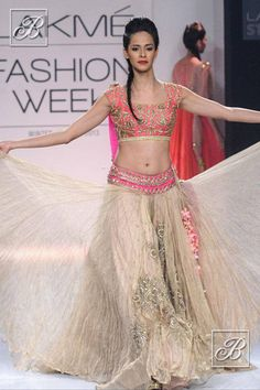 Beautiful Lehenga by Anushree Reddy http://www.kalkifashion.com/designers/anushree-reddy.html