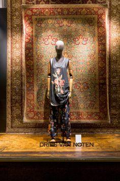 "DRIES VAN NOTEN, ""The Persian"",pinned by Ton van der Veer"