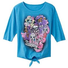 Monster High Ghoul Group Tee - Girls 7-16