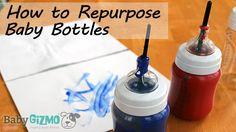 Baby Bottle Repurpose