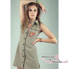 Vestido Safari HOLY PREPPY. MarcasyModa.net