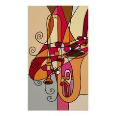 Jazz Trombone Modern Art - Jan 13