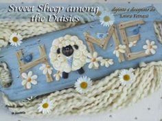 PENNELLI,AMORE E FANTASIA: Sweet Sheep among the Daises