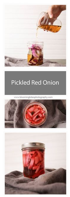 Pickled Red Onion -
