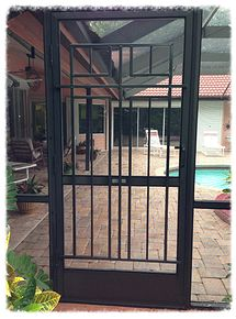 1000 Images About Decorative Aluminum Screen Door Grilles