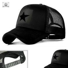 18d7644d7a Casquette RISING STAR Black Un Style qui en impose, Casquette homme Rising  Star, c