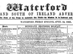 There are now 3 million articles in the Irish Newspaper Collection - a treasure trove of family history information. Millions of new historical Irish newspaper articles go online #Irish #newspaper #research