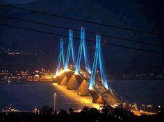 RIO-ANTIRIO BRIDGE, Greece  _____________________________ Reposted by Dr. Veronica Lee, DNP (Depew/Buffalo, NY, US)