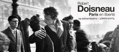 Le foto di #Doisneau (sì, quello del famoso bacio parigino). #parigi a #Roma