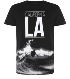Black LA California Surfer T-Shirt - That should be mine!
