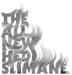 this font is quite clearly made of lines and it gives it a stroke effect and id say it looks abit like hair or smoke fading which is really interesting
