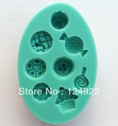 Free shipping 3D silicone cake mould,1Pcs Small Dessert shapes Cake Chocolate Candy Jello silicone Decorating Mold tools $6.43