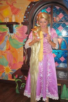 Rapunzel with Mini-Rapunzel