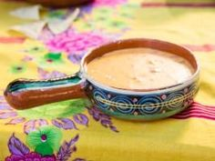 "Slow Cooker Texas Queso (Fiesta Night) - Tiffani Thiessen, ""Dinner at Tiffani's"" on the Cooking Channel."