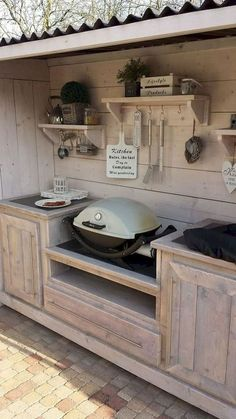 Outdoor kitchen ideas on a budget (24)