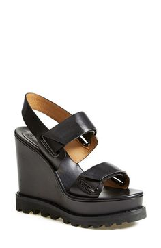 MARC BY MARC JACOBS 'Street Stomp' Wedge Sandal (Women) available at #Nordstrom