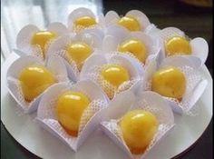 Balas de Leite em P� Carameladas - Veja mais em: http://www.cybercook.com.br/receita-de-balas-de-leite-em-po-carameladas.html?codigo=99207