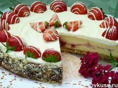 Торт «Белоснежка» / Простые рецепты