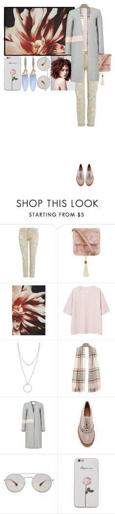 """""""Pastel Autumn Look"""" by hourieh ❤ liked on Polyvore featuring Polo Ralph Lauren, Brother Vellies, Monki, Botkier, Elliatt, Jeffrey Campbell, Prada and Paul & Pitü Naturally"""