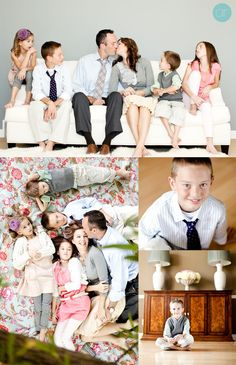 Fantastic family photo shoot warddrobe
