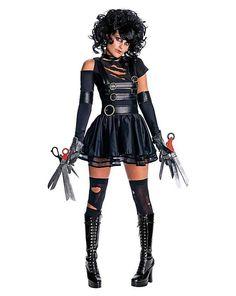 Halloween Costume miss Edward scissor hands