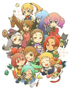 Find images and videos about harvest moon, animal parade and bachelorettes on We Heart It - the app to get lost in what you love. Harvest Moon Game, Rune Factory, Harvest Season, Moon Lovers, Best Memories, Runes, Anime, Nerd, Fan Art
