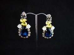 Lemon Drop Sapphire earrings