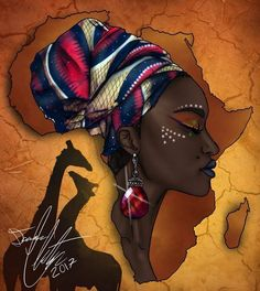 ideas black art painting woman africa - ideas black art painting woman africa The Effective Pictures We Offer You About Beauty and the - African Drawings, African Artwork, African Art Paintings, Black Art Painting, Black Artwork, Woman Painting, Black Love Art, Black Girl Art, Afrika Tattoos