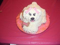 Doggie birthday cake for an animal obsessed little girl.