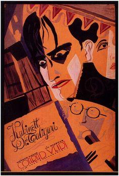 Film: The Cabinet of Dr. Caligari (Robert Wiene, Germany, 1920)