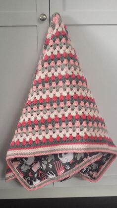 Granny Square Baby Blanket or Toddler Blanket by ShelleRobert, $50.00