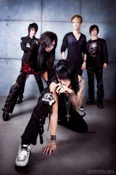 #dead_eyes #deadeyes #jrock #visual_kei #photo #mako #yumi #music #photo