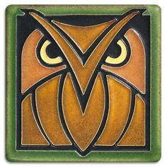 4x4 Owl - Green Oak