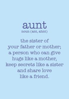 All sizes | Aunt Definition 3.5x5 Framed Quote | Flickr - Photo Sharing!