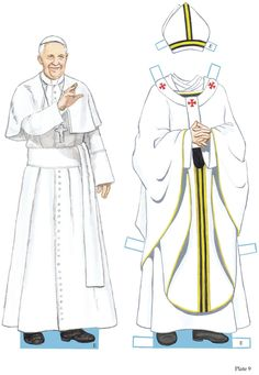 POPE FRANCIS PAPER DOLLS 3 of 4 Welcome to Dover Publications